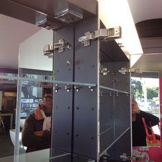 Inside of mirror cabinet