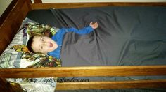 Zipper Sheets for Your Child's Twin Bed #ZipperSheets