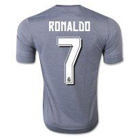 Real Madrid C.F 2015-16 Season RONALDO #7 Away Soccer Jersey