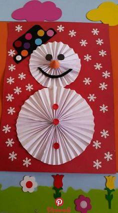 Create Christmas dolls with paper rosettes Create dolls .- Create Christmas dolls with paper rosettes Create Christmas dolls with paper rosettes - Christmas Crafts For Kids To Make, Christmas Activities, Diy Crafts For Kids, Kids Christmas, Holiday Crafts, Art For Kids, Holiday Decor, January Crafts, Theme Noel