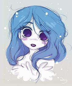 Les grands yeux de Princesse Soupir by *princekido on deviantART