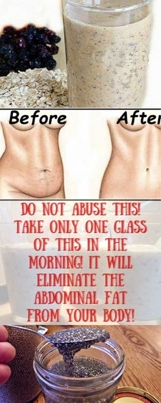 Do Not Abuse This! Take Only One Glass of This In The Morning! It Will Eliminate The Abdominal Fat From Your Body! - Healthy Life and Fitness Detox Drinks, Healthy Drinks, Get Healthy, Healthy Tips, Fitness Diet, Health Fitness, Health And Wellness, Health And Beauty, Wellness Tips