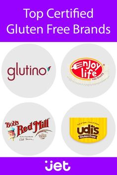 Jet is a one-stop shop for everything you need for you and your family. Shop for gluten free foods at Jet and save more than a trip to the store. Sin Gluten, Gluten Free Diet, Foods With Gluten, Dairy Free Recipes, Best Probiotic, Probiotic Foods, Gluten Free Brands, Gluton Free, Protein Rich Foods
