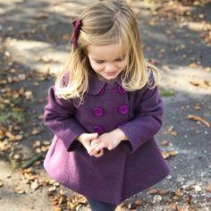 Toddler Fashion, Girl Fashion, Girls Coats & Jackets, Luxury Girl, Fashion Lookbook, Winter Coat, Little Girls, Girl Outfits, Winter Jackets