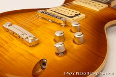 LaVoce Piezo Blend Control Knob.  Just another innovation on a wicked awesome guitar from Dean Zelinsky...