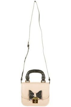 Topshop bag fashion ribbon cute