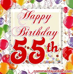 Wondrous 41 Best Myra 55 Images 55Th Birthday Happy 55Th Birthday Funny Birthday Cards Online Fluifree Goldxyz