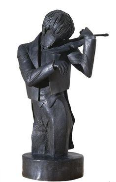 Pau Gargallo. El violinista, 1920 (MNAC)