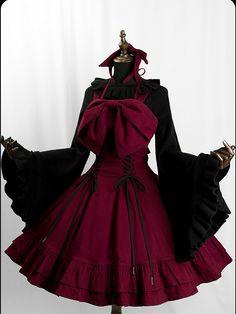 Pretty Outfits, Pretty Dresses, Beautiful Dresses, Cool Outfits, Kawaii Fashion, Lolita Fashion, Cute Fashion, Kawaii Dress, Kawaii Clothes