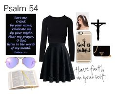 """""""Save Me, o God RTD"""" by lifeissweet170000 ❤ liked on Polyvore featuring Ray-Ban, Chicwish, Casetify, Aspinal of London, Les Petites... and Prada"""
