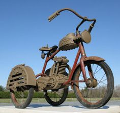 """Vintage Tricycle """"Army Retro"""" 40's"""
