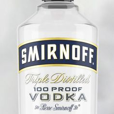 I worked on the #Smirnoff logo with Design Bridge and produced a typeface for the descriptors - the vodka and 100 proof, not the script. Slightly late on this - it was launched 3 months ago. . #type #design #calligraphy #logo #logotype #ligature #lettering #hand #handlettering #typography #brand #craft #handcrafted #drawing #handdrawn #letters #customtype #bespoketype #script #logos #branding #font #typeface #goodtype