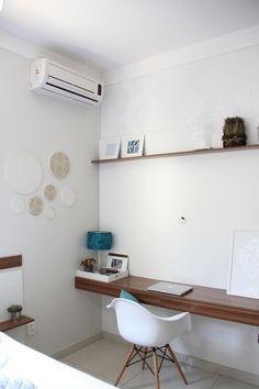 Home office - foto enviada por Jaqueline De Souza Sobral