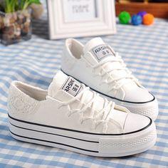 Cheap Nuevo verano encaje con cordones planos zapatos mujer zapatillas con…