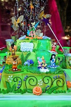 "Photo 23 of 42: Tinkerbell & Fairies / Birthday ""Fairy Extravaganza"" 
