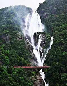 Impressive Waterfall Found in Goa - India
