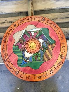 This is my favorite lazy Susan...all 4 seasons