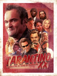 Tarantino by Richard Davies, via Behance