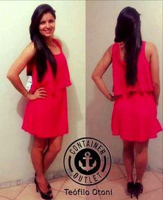 Vestido da foto só 59,99! #VemProContainer #ContainerOutlet #Modafeminina #Grandesmarcas #Pequenospreços