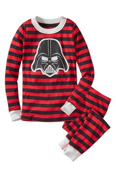 Free shipping and returns on Hanna Andersson 'Darth Vader™' Two Piece Fitted Organic Cotton Pajamas (Toddler Boys, Little Boys & Big Boys) at Nordstrom.com. The menacing visage of Darth Vader™ fronts striped pajamas with an extra-snug fit so they're safe for your little guy. Plus, like other Hanna Andersson pajamas, they're spun from organic cotton so they're extra cozy.