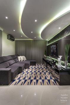 House Ceiling Design, Ceiling Design Living Room, Room Design Bedroom, Home Room Design, Living Room Designs, Salon Interior Design, Beautiful Interior Design, Dream House Interior, Luxury Homes Interior