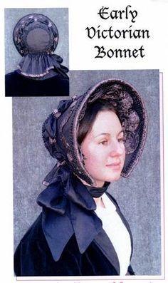 victorian bonnets - Google Search