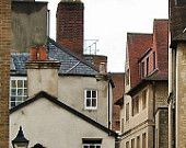 English rooftops photograph