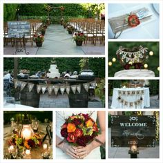 Rustic fall wedding fall bouquet rustic centerpiece