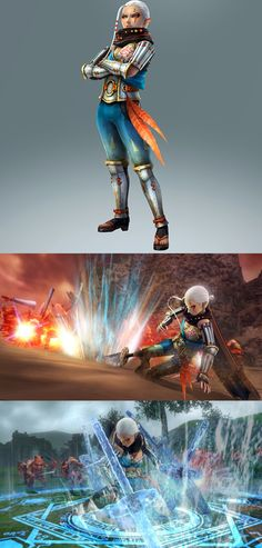 Zelda MUSOU / Hyrule Warriors #WiiU - Impa is playable, she will be Link and the others Hyrule warriors master-at-arms (May 2014 official art and screenshots) | #ZeldaHW