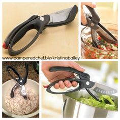 These are called Salad Choppers but I use them for EVERYTHING!  Making fresh salsa, egg salad, chopping up cooked chicken, you name it! Order yours today at www.pamperedchef.biz/kristinabailey