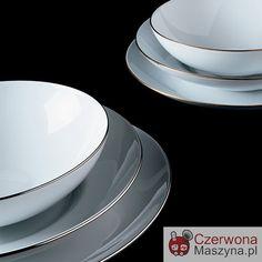 Talerz obiadowy Alessi Mami Platinum Ø 27,5 cm - CzerwonaMaszyna.pl