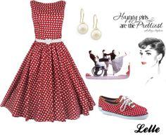 """Lindy Bop Classy Vintage Audrey Hepburn Style 1950's Rockabilly Swing..."" by lellelelle on Polyvore"