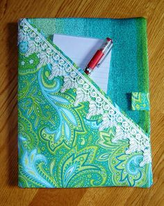 Composition Notebook Cover by quailhollowgifts on Etsy, $17.00