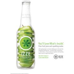 izze!! :] clipped by ellen ❤ liked on Polyvore