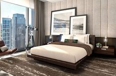 Vista Residences, Chicago, IL designed by HBA Los Angeles