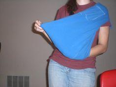 T-Shirt Baby Sling @Tiffany Cartino