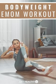 What kind of workout is super time-efficient and suitable for all fitness levels? Answer: EMOM! If you're a fan of fun, fast-moving workouts that keep your attention and shorten your workout, you definitely need these 5 EMOM (every minute on the minute) workouts. Killer Workouts, Easy Workouts, At Home Workouts, Emom Workout, Step Workout, You Fitness, Fitness Goals, Fitness Tips, Side Lunges