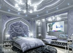Luxury Master Bedroom Design - Interior Decor by Algedra