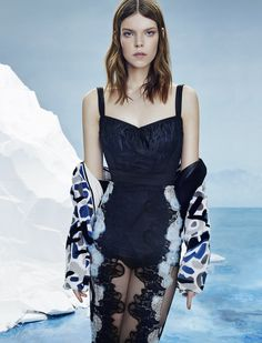 meghan collison by an le for numéro russia april 2015 | visual optimism; fashion editorials, shows, campaigns & more!