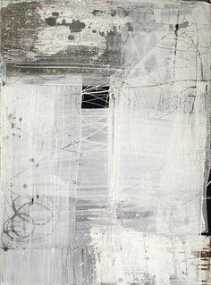 ArtPropelled — neutralnotes: (via Bernd Haussmann Wassily Kandinsky, Abstract Expressionism, Abstract Art, Abstract Paintings, Modern Art, Contemporary Art, Encaustic Art, White Art, Black White