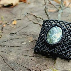 If you like micromacrame jewelry  then visiting @thetomentosashop is a must. Shown here is a hematite net cuff bracelet . . . #egst #etsyjewelry