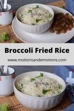 Broccoli Fried Rice is a perfect vegetarian quick and easy meal. This healthy broccoli fried rice is a very good lunchbox menu for kids as well as adults.