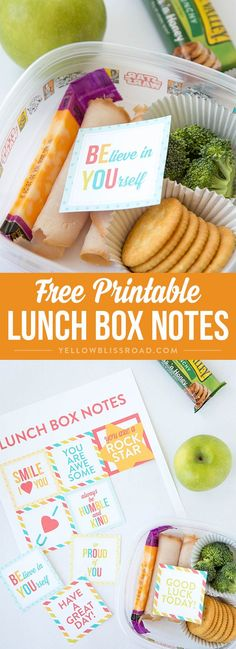 Free Printable Lunch Box Notes - Send a little surprise love to your kids in their school lunches! (ad) #getdisney