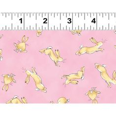 Pandoras Upholstery Woodland Cute Bunnies Rabbit Pink Cotton Fabric Curtain Craft Quilting Patchwork Sold By The Metre Pink Rabbit, Bunny Rabbit, Anita Jeram, Nursery Fabric, I Love You, My Love, Scrapbook Designs, Classic Books, Cute Bunny