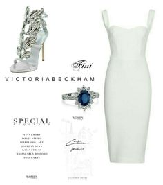 """Victoria Beckham"" by fini-i ❤ liked on Polyvore"