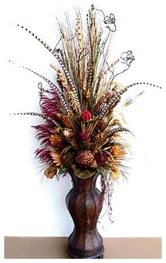 awesome Astonishing Dried Flower Arrangement