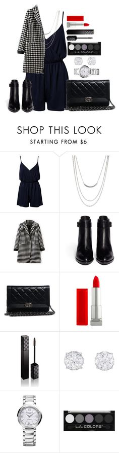"""""""Untitled #543"""" by fabianarveloc on Polyvore featuring NLY Trend, ASOS, Alexander Wang, Chanel, Maybelline and Gucci"""
