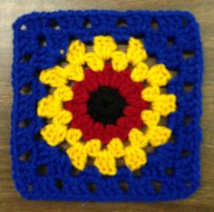 Ravelry: Project Gallery for Free SmoothFox's Charity Square Nbr 4 pattern by Donna Mason-Svara