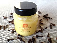 *Jojoba & Clove Organic Hair Treatment - A Handmade Hair Rescue from Old Wives Tail Old Wife, Organic, Skin Care, Desserts, Handmade, Hair, Food, Tailgate Desserts, Deserts