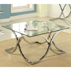 Shop for Furniture of America Artenia Modern Chrome Coffee Table. Get free shipping at Overstock.com - Your Online Furniture Outlet Store! Get 5% in rewards with Club O!